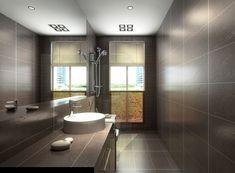 brown grey bathroom floor tiles