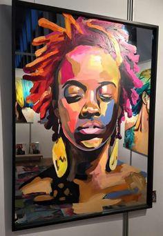 * Artist Anette Tjaerby Manege