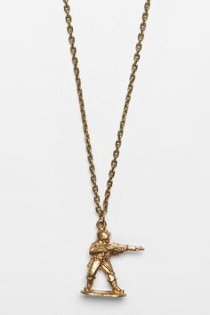 Urban Outfitters - Love Smith x Urban Renewal Soldier of Love Necklace
