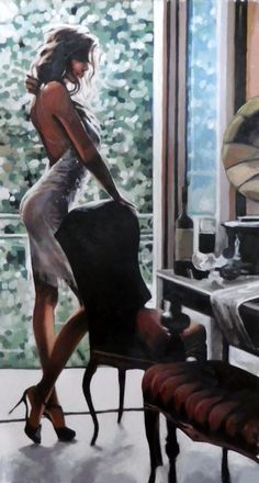 "Saatchi Online Artist: thomas saliot; Oil, Painting ""Avalon"""