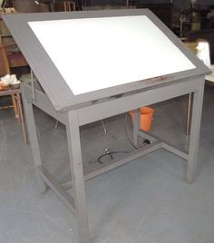 1000 images about light box tables on pinterest light for Ikea drafting table with lightbox