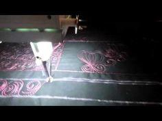 #FMQ201 ( Video #5 - Cinnamon Buns) Longarm Free Motion Quilting Video - YouTube