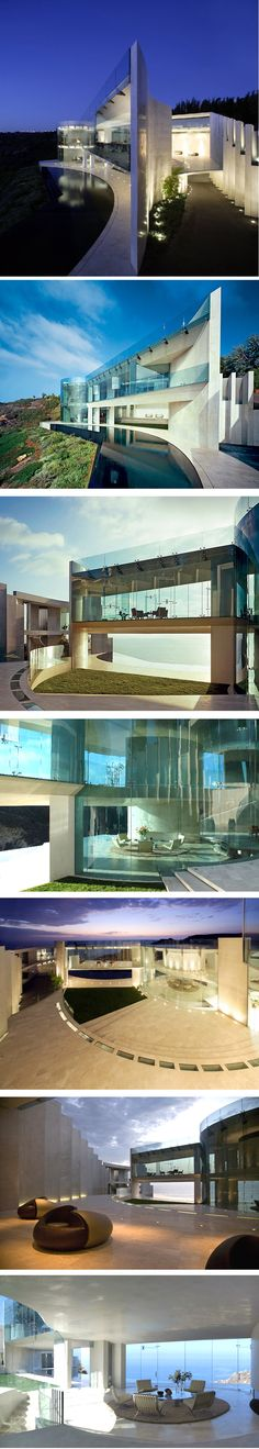 The Razor Residence by Wallace E. Cunningham Located in La Jolla, California
