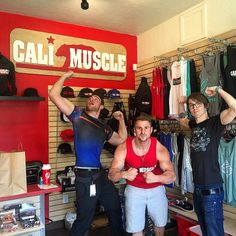Downtown Campbell: Flex Friday at Cali Muscle  Good people good times  stop by and see us this weekend in downtown Campbell  11am to 7pm  or 24/7 at www.calimuscle.com  #CaliMuscle by calimuscle1