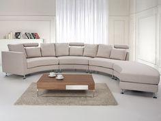 ROTUNDE sofa in beige
