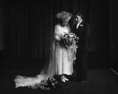 Wedding couple portrait, 1925Albuquerque - Albuquerque Museum Photo Archives - CONTENTdm Title Albuquerque Museum, Valley College, College Library, Body Adornment, Couple Portraits, Photo Archive, Wedding Couples, Culture, Weddings