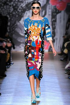 Tsumori Chisato Fall 2013 Ready-to-Wear Collection