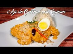 Ají de Gallina con Quinua – A Comer