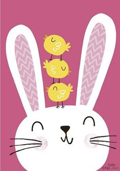 Uploaded by Glow Glow Ayala. Find images and videos about bunny and easter on We Heart It - the app to get lost in what you love. Easter Art, Easter Crafts, Easter Bunny, Happy Easter, Easter Illustration, Bunny Art, Cute Characters, Cute Drawings, Cute Wallpapers