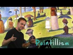 Get to the Point: Georges Seurat and Pointillism- Part 1 - YouTube