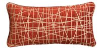 Bel-Air Cushion - Fiddlesticks Ripe Red by HotelHome Australia.  Hotel Bed Coverings.