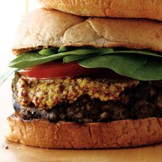 #2 is the best black bean and oatmeal burger-8 Homemade Veggie Burger Recipes | Women's Health