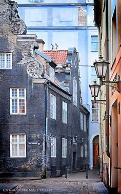 The beautiful streets of Riga!