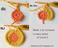 Circles of the Sun Mystery CAL 2015 - overlay crochet - Block 3 #free crochet pattern by LillaBjornCrochet