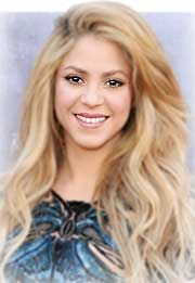 Pin for Later: 55 Music Stars With Real Names You Won't Recognize Shakira = Shakira Isabel Mebarak Ripoll Source by popsugar Shakira Mebarak, Curls For Long Hair, Celebrity Hairstyles, 90s Hairstyles, Shakira Hairstyles, Beach Hair, Female Singers, Famous Singers, Woman Crush