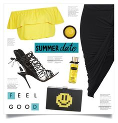 """""""Feel Good"""" by marina-volaric ❤ liked on Polyvore featuring New Look, Sophia Webster, Les Petits Joueurs, de Mamiel, summerdate and rooftopbar"""