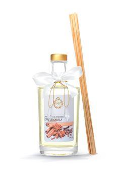 O Aromatizador de Ambiente Cravo e Canela Difusor possui aroma doce, quente e apimentado. Traz a energia da prosperidade e a alegria de viver.
