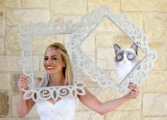 DIY Wedding Photo Booth Props: Frames | Morena's Corner