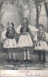 1903 Grecia - Hellas - costumi greci -ebay