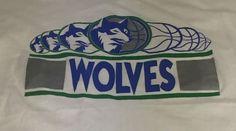 Vintage Minnesota Timberwolves 50/50 Large Short Sleeve Tee T-Shirt #ScreenStars #MinnesotaTimberwolves