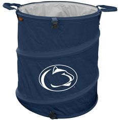 Logo Brand Penn State Nittany Lions Collapsible 3-in-1 Trashcan Cooler, Multicolor
