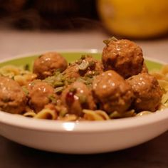 Swedish Meatballs and Egg Noodles (baked pasta recipes egg noodles) Egg Noodle Recipes, Baked Pasta Recipes, Pork Recipes, Cooking Recipes, Meatballs And Egg Noodles Recipe, Beef Dishes, Pasta Dishes, Entree Recipes, Dinner Recipes