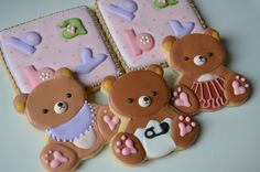 gallery of song bird sweets cookies | Baby biscuits - a gallery on Flickr