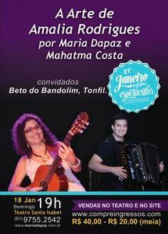 Bom Lazer - Seu fim de semana começa aqui: SHOW: Maria Dapaz estreia novo show no Teatro de S...