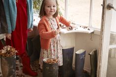 Squirrels Dress | Cath Kidston AW15 |