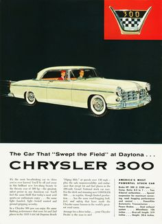 1955 Chrysler 300 Two Door Hardtop