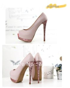 Aliexpress.com : Buy Free Shipping 2012 crystal sexy shiny crystal waterdrill 13cm high heel shoes platform pumps women shoes wedding shoes S PZG155 from Reliable women shoes high heel suppliers on You Are Beauty ! $32.99