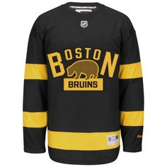 Help show off your die-hard Boston Bruins pride with this Reebok jersey. This awesome jersey features team graphics and is made to look like what the players wear. It's the perfect thing to sport on Boston Bruins game day. Boston Bruins Funny, Boston Bruins Hockey, Hockey Outfits, Smart Fitness Tracker, Nhl Shop, Nhl Winter Classic, Ice Hockey Jersey, Nhl Jerseys, Outfits