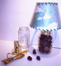 maps mason jar - Google Search