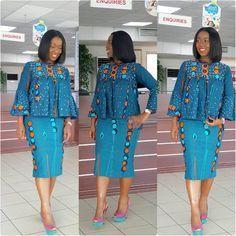 African print top and Short Skirt Ankara dress Ankara Latest African Fashion Dresses, African Dresses For Women, African Print Dresses, African Print Fashion, Africa Fashion, African Attire, African Women Fashion, African Prints, African Traditional Dresses