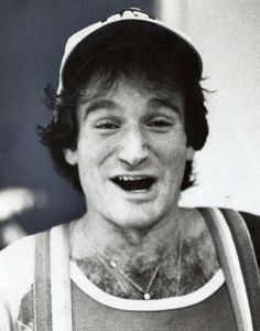 Robin Williams was an aspiring comedian in 1978. Photo: Ho