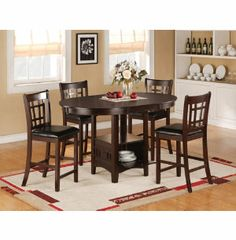 60 dining table 6 chairs dinettes dining rooms
