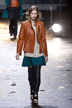 Love the color combo and styling 3.1 Phillip Lim Fall 2013