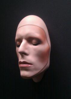 David Bowie Pin-Ups mask by Mark Wardel