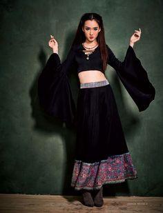 original womans fashion designs vintage hill tribe textiles fabric hemp cotton indigo batik embroidery
