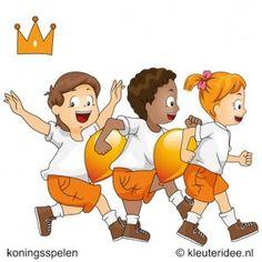 De koninklijke trein, koningsspelen voor kleuters, kleuteridee.nl ,13.