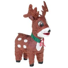Reindeer Pinata - Christmas Themed Winter Holiday Party Supplies & Games for sale online Fun Party Games, Party Themes, Party Ideas, Christmas Games, Christmas Ornaments, Reindeer Christmas, Christmas Ideas, Pinata Fillers, Pinata Party