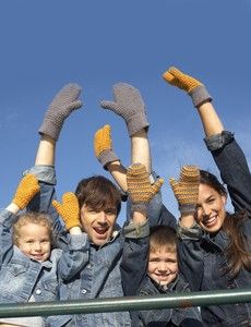 Fantastic Family Mittens