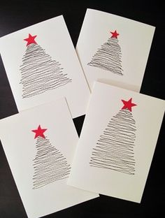 49 awesome diy holiday cards christmas pinterest hand drawn easy cute diy christmas cards another advent fundraiser idea solutioingenieria Images