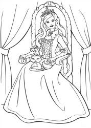 Coloring Page Barbie