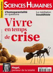 Une sciences humaines février 2013  Vivre en temps de crise