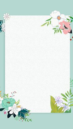 Wallpaper Nature Flowers, Flower Background Wallpaper, Flower Backgrounds, Wallpaper Backgrounds, Iphone Wallpaper, Wallpapers, Old Paper Background, Frame Background, Flower Frame