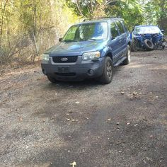 """""""Up for sale is every part off this ford escape.  The motor and transmission work good lot of power.   High miles but works good All the windows work. Every Part Is for Sale. I am willing to sell the whole truck before any parts are missing Thank you, Quick Care Towing"""""""