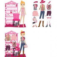 Mural adhesivo e imantado Dressing http://pekaypeke.com/es/puzzles/239-mural-adhesivo-e-imantado-dressing.html