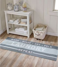 Find the best Heavyweight Recycled Waterhog Laundry Room Mat Runner at L. Our high quality home goods are designed to help turn any space into an outdoor-inspired retreat. Laundry Room Rugs, Laundry Room Remodel, Laundry Room Organization, Laundry Room Design, Decorate Laundry Rooms, Laundry Organizer, Laundry Room Countertop, Laundry Area, Kitchen Cabinets