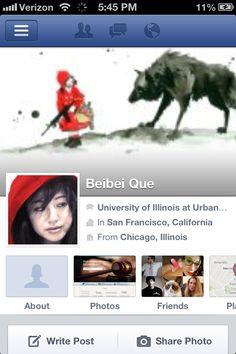 Profile edit - FB